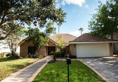 Edinburg Single Family Home For Sale: 3502 Plazas Del Lago Drive