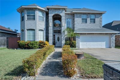 McAllen TX Single Family Home For Sale: $249,500