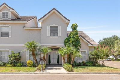 McAllen Condo/Townhouse For Sale: 201 Bales Road #18