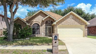 McAllen TX Single Family Home For Sale: $150,000