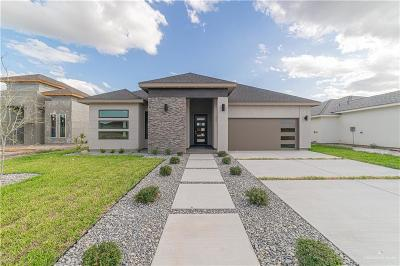 McAllen TX Single Family Home For Sale: $257,000