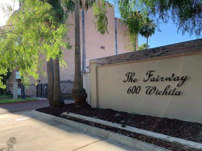 McAllen TX Condo/Townhouse For Sale: $95,000