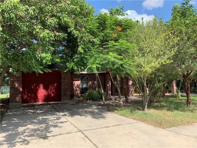 McAllen TX Single Family Home For Sale: $102,500