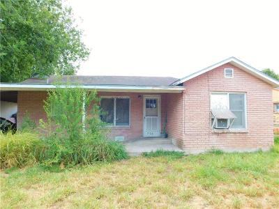 McAllen TX Single Family Home For Sale: $71,000