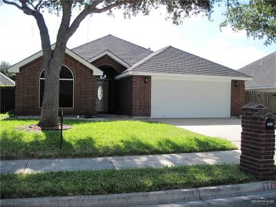McAllen TX Single Family Home For Sale: $160,000