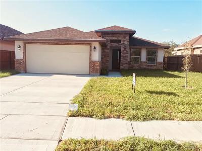 McAllen TX Single Family Home For Sale: $158,900
