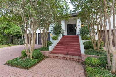 McAllen TX Condo/Townhouse For Sale: $259,000