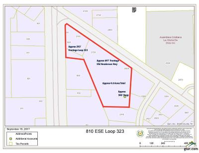Tyler Commercial For Sale: 810 Sse Loop 323