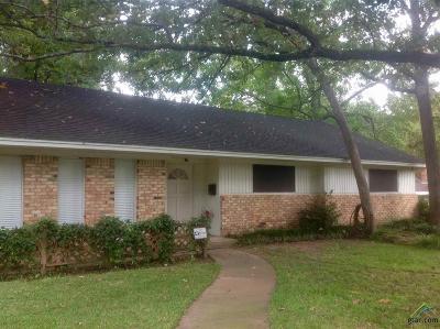Tyler Single Family Home For Sale: 3200 De Charles
