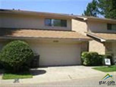 Tyler Condo/Townhouse For Sale: 2502 Villa Ct