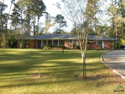 Upshur County Single Family Home For Sale: 1104 Brooksy