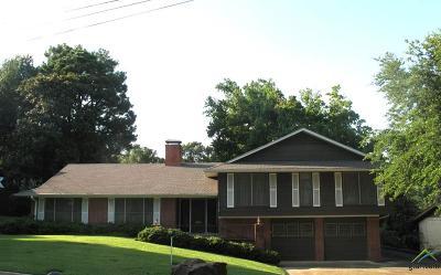 Tyler Single Family Home For Sale: 1110 Arlington