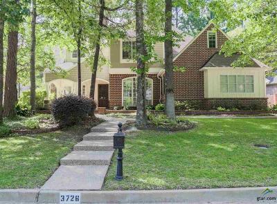 Tyler Single Family Home For Sale: 3726 Woods Blvd