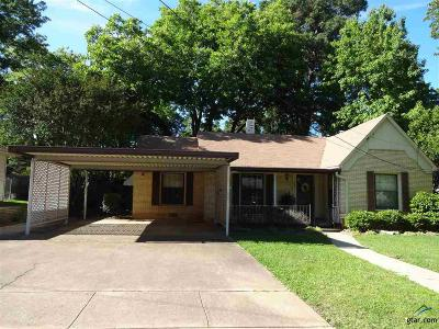 Tyler Single Family Home For Sale: 512 E 4th