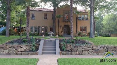 Tyler Single Family Home For Sale: 1503 S College