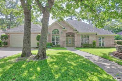 Tyler Single Family Home For Sale: 3303 Pebblebrook