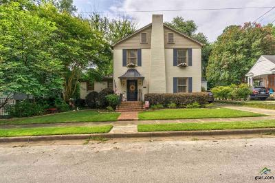 Tyler Single Family Home For Sale: 504 W Shaw