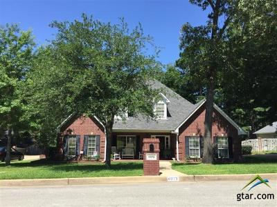Tyler TX Single Family Home Contingent - Active: $329,900