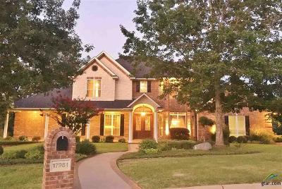 Tyler Single Family Home For Sale: 17981 Timothy Court