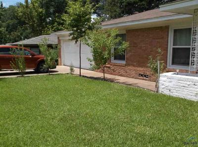 Tyler TX Single Family Home For Sale: $113,900
