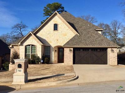 Tyler Single Family Home For Sale: 760 Hampton Hill Drive