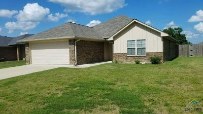 Flint Single Family Home For Sale: 19411 King Ranch