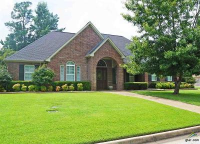 Tyler Single Family Home For Sale: 3822 Woods Blvd