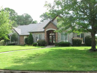 Tyler Single Family Home For Sale: 2111 Holly Creek Dr