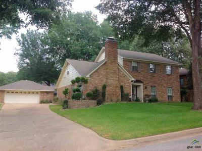Tyler Single Family Home For Sale: 6002 Foxcroft Rd