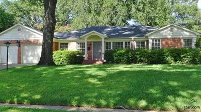 Tyler Single Family Home For Sale: 2726 S Chilton