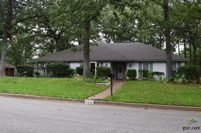 Tyler Single Family Home For Sale: 4308 Heather Ln
