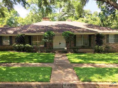 Tyler Single Family Home For Sale: 418 Bluebonnet Drive