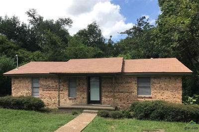 Tyler TX Single Family Home For Sale: $89,900