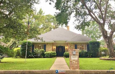 Tyler Single Family Home For Sale: 3909 Glendale Dr.
