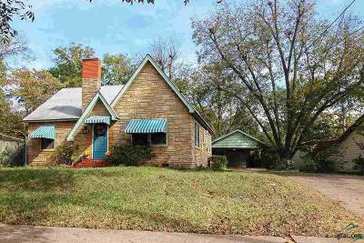 Tyler Single Family Home For Sale: 1430 S Glenwood Blvd