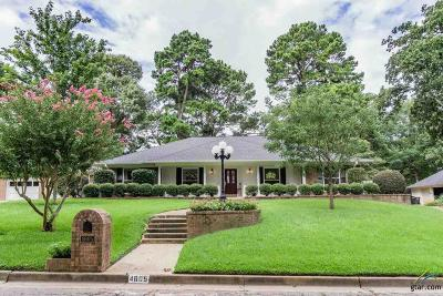 Tyler Single Family Home For Sale: 4605 Gretna Green Ln