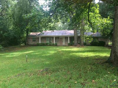 Tyler Single Family Home For Sale: 13803 Hwy 155 South