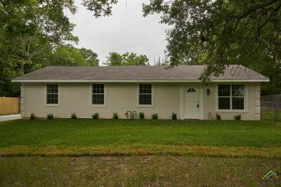 Tyler TX Single Family Home For Sale: $129,900