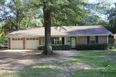 Tyler TX Single Family Home For Sale: $142,900