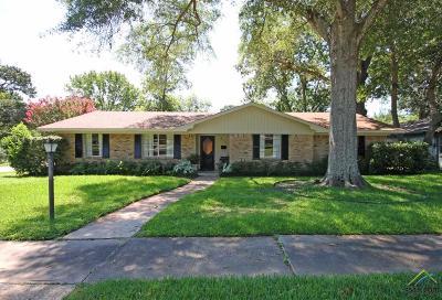 Tyler TX Single Family Home For Sale: $167,000