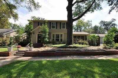 Tyler Single Family Home For Sale: 1122 S Chilton