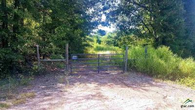 Quitman TX Acreage For Sale: $99,500