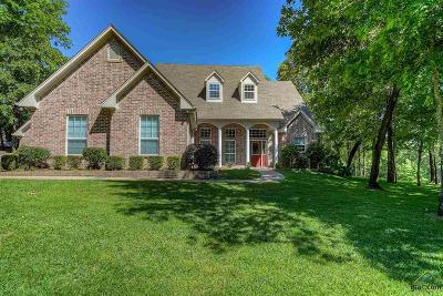 Tyler Single Family Home For Sale: 1910 Stonehill