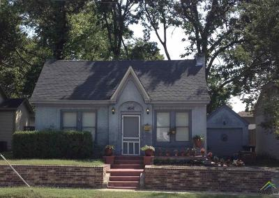 Tyler Single Family Home For Sale: 404 W Shaw Street