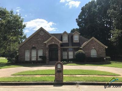 Tyler Single Family Home For Sale: 1103 Ashwood Dr.