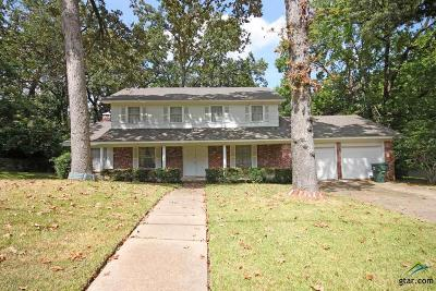 Tyler Single Family Home For Sale: 1516 Everglades Dr