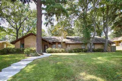 Tyler Single Family Home For Sale: 3829 Cloverdale Drive
