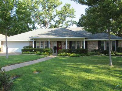 Tyler Single Family Home For Sale: 601 Carriage Dr.