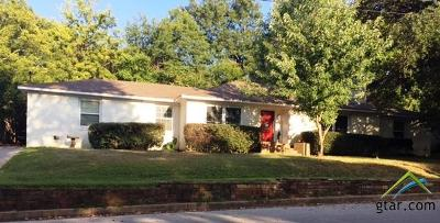 Tyler Single Family Home For Sale: 2812 Bain Place