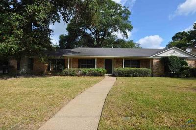 Tyler Single Family Home For Sale: 1600 Sequoia Dr